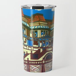 East Cliff Hall (Russell-Cotes Art Gallery & Museum) Travel Mug