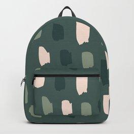 Paintbrush Green Rose Backpack