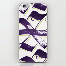 Letter X iPhone & iPod Skin