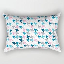 Pink Tooth Rectangular Pillow