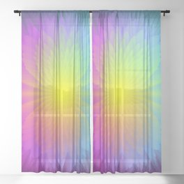 Color Therapy Sheer Curtain
