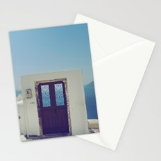 Santorini Door V Stationery Cards