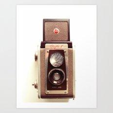 Duaflex Vintage camera Art Print