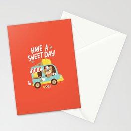 Ice Cream Bear Stationery Cards