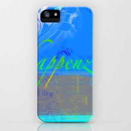 Happenz iPhone Case