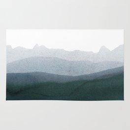 mountain horizon 3 Rug
