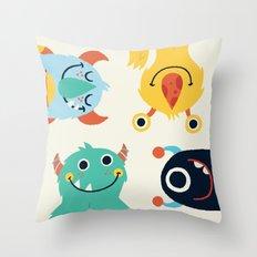 Saturday Throw Pillow