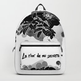 La flor de mi secreto Backpack