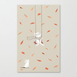 Het Prullalamonster print #1 Canvas Print