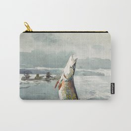 Winslow Homer - Pike, Lake St. John, 1897 Carry-All Pouch