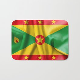 Grenada Flag Bath Mat