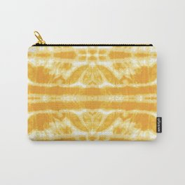 Yellow Tie Dye Twos Carry-All Pouch