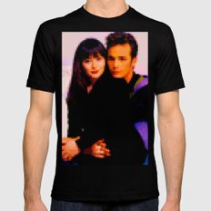 90210 Mens Fitted Tee Black LARGE