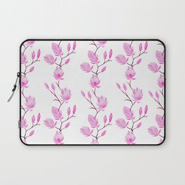 Magnolia - White Laptop Sleeve