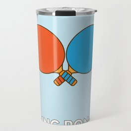 I am the sport! part1 ping pong  Travel Mug