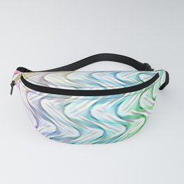 Upside Down Psychedelic Waves Fanny Pack