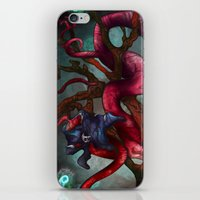 soul eater iPhone & iPod Skins featuring Soul eater Tree by Sampsonknight
