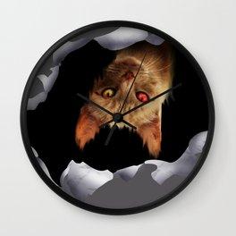 CRack in my heart 2: Mewo Wall Clock