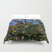 cafe Duvet Covers featuring Cafe by Camaracraft