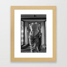Roman Female Framed Art Print