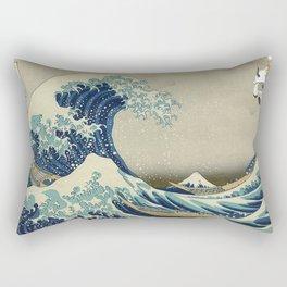 The Great Wave Off Katara Rectangular Pillow