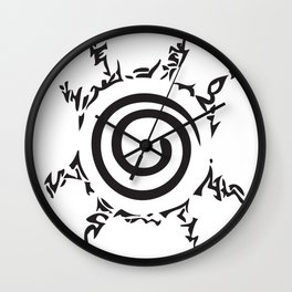 Sealed Fate Wall Clock