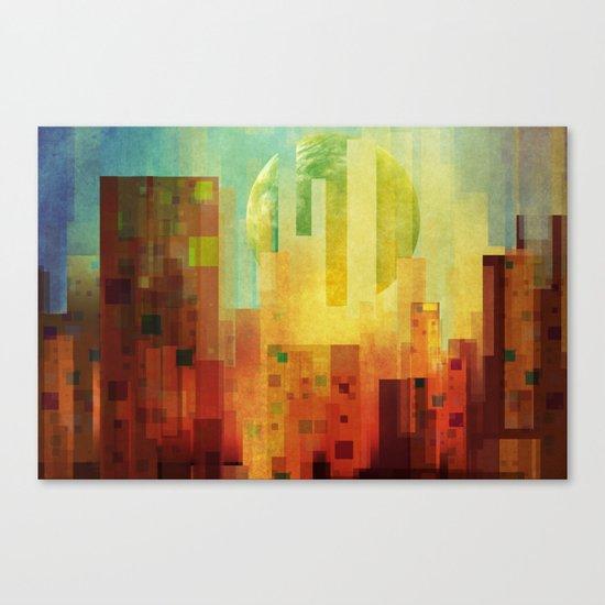 Urban Sunset II Canvas Print