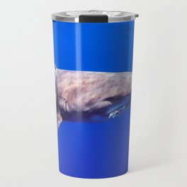 Fish Are Friends, Not Food Travel Mug