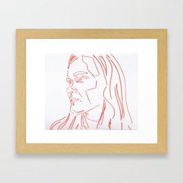 Distance Framed Art Print