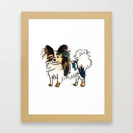Jasper - Dog Watercolour Framed Art Print