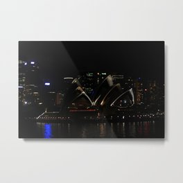 The Levels of Opera Metal Print