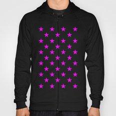 Stars (Fuchsia/White) Hoody