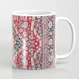 Mohtashem Kashan Central Persian Rug Print Coffee Mug