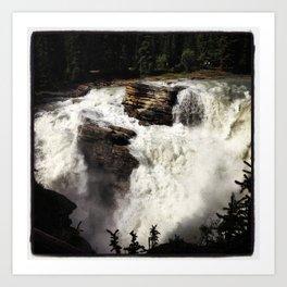 Rushing Falls Art Print