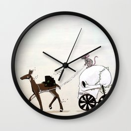 Different Path Wall Clock