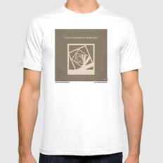 No243 My Memento minimal movie poster MEDIUM Mens Fitted Tee White
