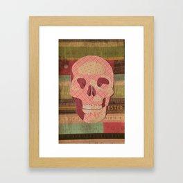 Skull 001 Framed Art Print