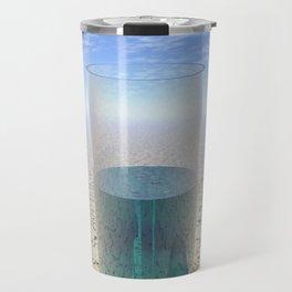 Glass of Water Travel Mug