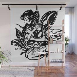 Beetle Harp Wall Mural