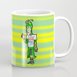 "Loki and his Ragnarok ""Trophy""!  Thor's bro has something new to show his Avenger ""Friends""! Coffee Mug"