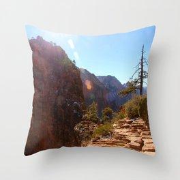 Angel's Landing  Throw Pillow