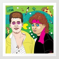 Lost Boys Art Print