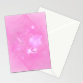 Folds In Pink Stationery Cards