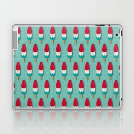Pop Rockets on Aqua Laptop & iPad Skin