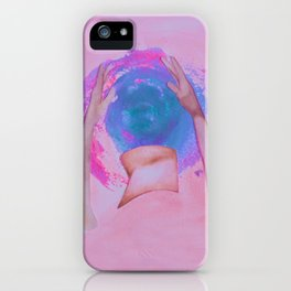 Overthinking of love iPhone Case