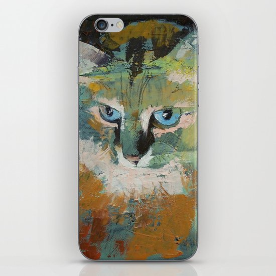 Himalayan Cat iPhone & iPod Skin