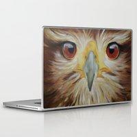 hawk Laptop & iPad Skins featuring Hawk by unkz87