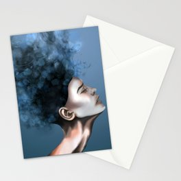 """OCD: """"Intrusive Thoughts"""" Stationery Cards"""