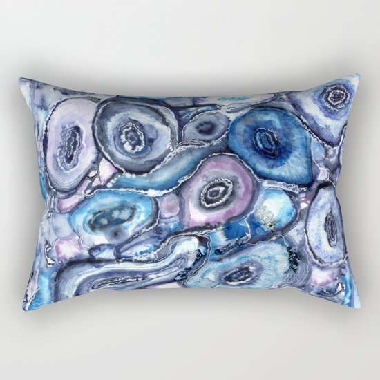 Agate Textures Rectangular Pillow