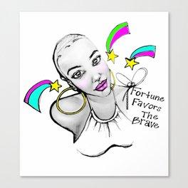 #STUKGIRL ADIA Canvas Print